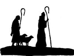 Christmas Stable Silhouette