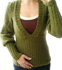Poet's pullover, free on ravelry