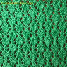 Net Lace knitting stitches