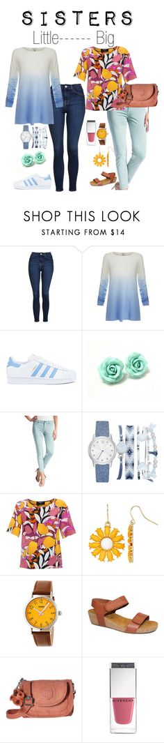 """""""day out with sissy"""" by mfcastillo98 ❤ liked on Polyvore featuring Topshop, Joie, adidas, Liverpool Jeans Co., A.X.N.Y., Paule Ka, Crayo, Kipling, Givenchy and little"""