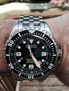 #azimuth #seahum #microbrand #watch #diver