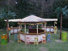 cocktailbar huur huren - cocktailbar - Beach - Tropical decor - Rekwisieten | Groen-land decorbouw