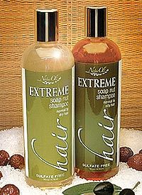 Soap Nut / Soap Berry Shampoo - EXTREME Hair - Combo Pack - Unscented (2 - 16 oz bottles)