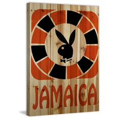 Marmont Hill 'Jamaica' Playboy Art Printed on Pine