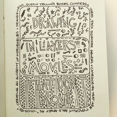 TED2015 Sketch Notes, Bullet Journal, Drawings, Sketches, Drawing, Portrait, Draw, Grimm, Illustrations