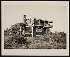 Citation: Winslow Homer's studio. Outdoor view, 1934 Aug. / unidentified photographer. Walt Kuhn, Kuhn family papers, and Armory Show records, Archives of American Art, Smithsonian Institution.