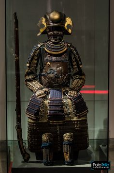 Segunda Parte de esta hermosa Exposición de armaduras japonesas