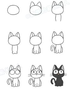 photo apprendre a dessiner bart simpsonYou can find Dessins faciles and more on our website.photo apprendre a dessiner bart simpson Cute Easy Animal Drawings, Cute Drawings, Disney Drawings, Easy People Drawings, Sketches Of People, Pencil Drawings, Drawing People, Kawaii Drawings, Simple Cartoon Drawings