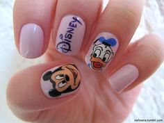 Mickey Mouse/Donald Duck Nails