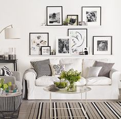Picture frames - lounge