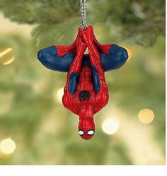 disney authentic marvel avengers spiderman super hero christmas ornament disney christmas ornaments christmas tree themes