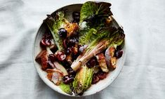 Anna Jones's roasted cherry salad with buttermilk dressing | lettuce