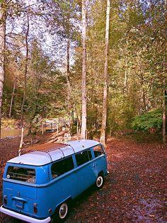 Vw - bus - van - bulli -t2 - forest