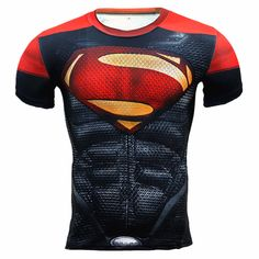 awesome Sport t-shirt Red Costume Superman DC GYM  -   #amazon #australia #buy #collectibles #DCUniverse #Detectivecomics #ebay #Kal-el #Kalel #loot #malaysia #Manofsteel #merch #merchandise #purchase #southafrica #Superman #superman #tv #uk