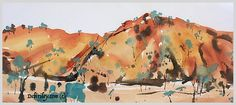 Posts about absolute beginners landscapes written by debiriley Impressionist Landscape, Watercolor Landscape, Landscape Paintings, Watercolor Paintings, Landscapes, Watercolor Projects, Watercolour Tutorials, Watercolor Techniques, Australian Artists