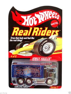 Hot Wheels  RED LINE CLUB EXCL. HIWAY HAULER  REAL RIDERS SERIES 7