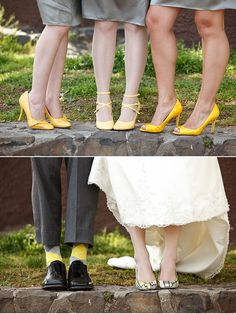 Ignore the rest but I think all the groomsmen with yellow argyle socks (not these ones but like these) = win!