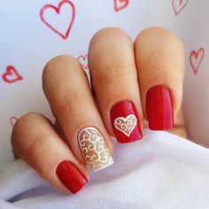 Domi Králiková (@domi_nailart) Happy Valentine's Day❤ #happyvalentinesday #valentinedesign #valentine #valentinesday #valentinesnailart #nailartlover #love #lovenails #romanticnails #rednails #nailart #lace #lacenailart #ornamental #ornaments #ornamentalnails #redandwhite #partynails #nailart #pinit #followme #follow #follownaila #pinteresting #pinitnow #pin #perfectnails #nailartideas #nailart #nails #nailartdesign #whitelace #heartnails #heart #like