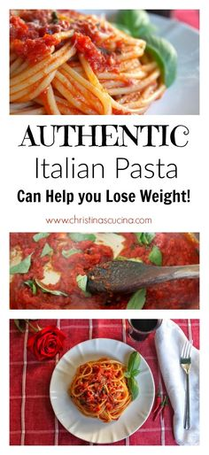 Did you know that eating authentic Italian pasta can help with weight loss? Use this recipe to get started!