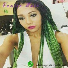 18inch 20roots/piece Box Braids Hair Crochet Hair Extensions 100g/piece freeshipping havana mambo twist 3x box braids hairstyle