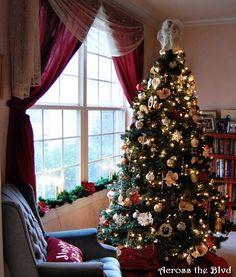 Christmas Home Tour 2015  Across the Blvd