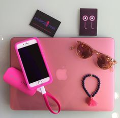 Coques rose mate pour Mac