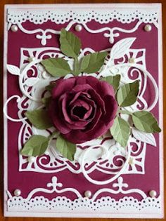 Spellbinder Rose Creation die