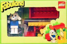 Trip down memory lane. LEGO Fabuland Set 3792-1 Bedroom
