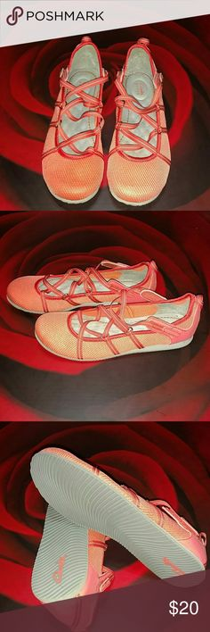 Clarks Privo Shoes NWOT Clark Mary Jane light weight ballerinas strap shoe. If you know anything about comfort, you know Clark shoes!  Comfort and style at the same time. Clarks Shoes Flats & Loafers