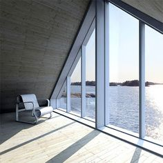 As the weather continues to get warmer, we find ourselves daydreaming more and… A Frame House Plans, Country Modern Home, House Extensions, Beautiful Buildings, Windows And Doors, Deco, Interior Architecture, My House, Building A House