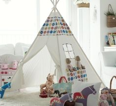 Children teepee tent indian tentplay tentkids tent by goodhapy, $100.00