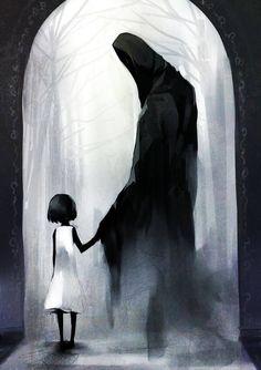 """""""Come little children… I'll take thee away"""" Kyousuke Takagi #digital #illustration"""