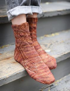 Ravelry: Sybaritic pattern by Hunter Hammersen Girafa Knitting Socks, Hand Knitting, Knitting Patterns, Knit Socks, Yoga Socks, Knitting Charts, Ravelry, Little Cotton Rabbits, How To Purl Knit