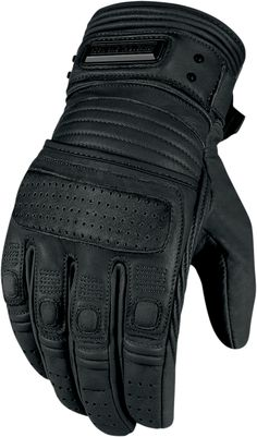 Icon 1000 Beltway Glove - Black | Products | Ride Icon