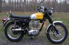 My Old Adventure Bike: 1970 to 1987 - a 1968 441cc BSA Victor Special. THE hot Enduro bike at the time!