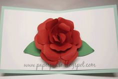 Have the flile  Paper Pulse Blog Spot: Everything Is Coming Up Roses