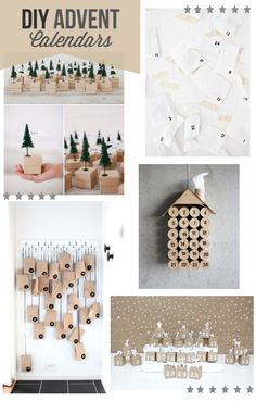 10 DIY Advent Calendars | www.gimmesomeoven.com/style #diy #advent #christmas