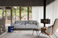 Koti 3-Seater Sofa – Hem Rolling Storage, Mobile Storage, Lounge Chair, Design Bestseller, Small Drawers, Residential Real Estate, 2 Seater Sofa, Large Rugs, White Beige