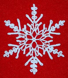 Ravelry: Crystal Fantasy Snowflake pattern by Susan Gater
