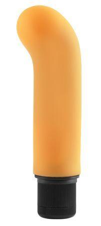 Neon jr. g-spot softees - orange fra NEONLuvTouch - Sexlegetøj leveret for blot 29 kr. - 4ushop.dk - Få øjeblikkelig nydelse i bruseren eller karbadet med denne multi-speed Neon Jr. G-Spot Softee vibrator fra Pipedream. Lad ikke den lille størrelse narre dig - den har masser af krafter til at give dig spænding både under og over vandet. Bare drej knappen og vælg den hastighed som passer dig.