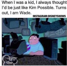 Yep. A little bit Wade, a little bit Sheego, a little bit Kim(because of the tweebs), but most of the time I'm Ron.
