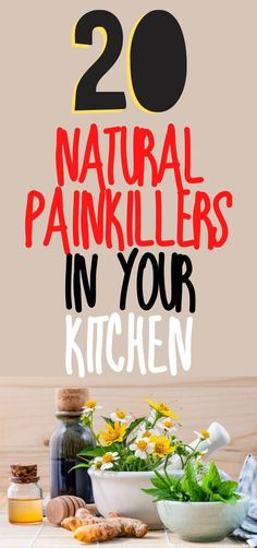This fascinating list of natural painkillers, also gives specific information as to which pain a particular ingredient may assist with. Healthy Habits, Healthy Tips, Healthy Food, Workout Tips, Workout Plans, Health Articles, Health Advice, Flat Stomach, Flat Belly