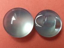 10 kleine Knöpfe hellblau 11mm (1246-3) Knopf blau