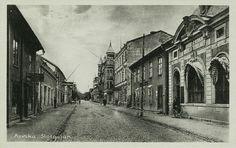 Värmland Arvika Storgatan tidlig 1900-tal utg August Jacobsons Bokhandel
