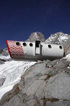Rigugio Gervasutti Monte Bianco, Western Italian Alps, Monte Bianco, Courmayeur…