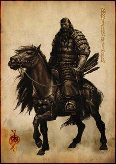 varvar.ru: Ганбат Бадамхан. Монгольский воин