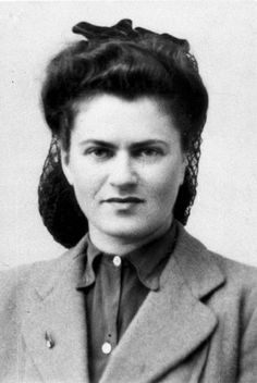 In the summer of 1943, Myla Racine assumed command of an underground group affiliated with the Hanoar Hatzioni youth movement in St. Gervais, in the Italian occupation zone in France. She helped hundreds of families that had fled to the area, helping to smuggle children to Switzerland. She was caught on October 21, 1943 while smuggling children, imprisoned and tortured. She was later sent to Ravensbrück and then Mauthausen, where she was killed in an Allied air raid. #WomensDay #wmnhist
