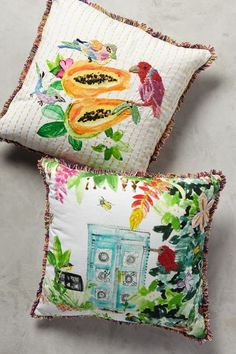 Spice Island Pillow - anthropologie.com #anthroregistry
