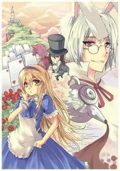 """""""Heart No Kuni No Alice~"""" - Alice in the Country of Hearts, manga, game, anime"""