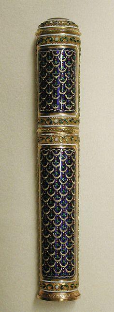 Étui for Sealing Wax  Georges-Antoine Croze (master 1777, active 1790)  Date: 1785–86